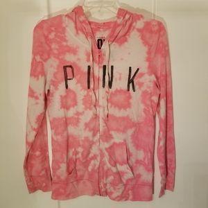 Victoria Secret Love Pink size Large light jacket